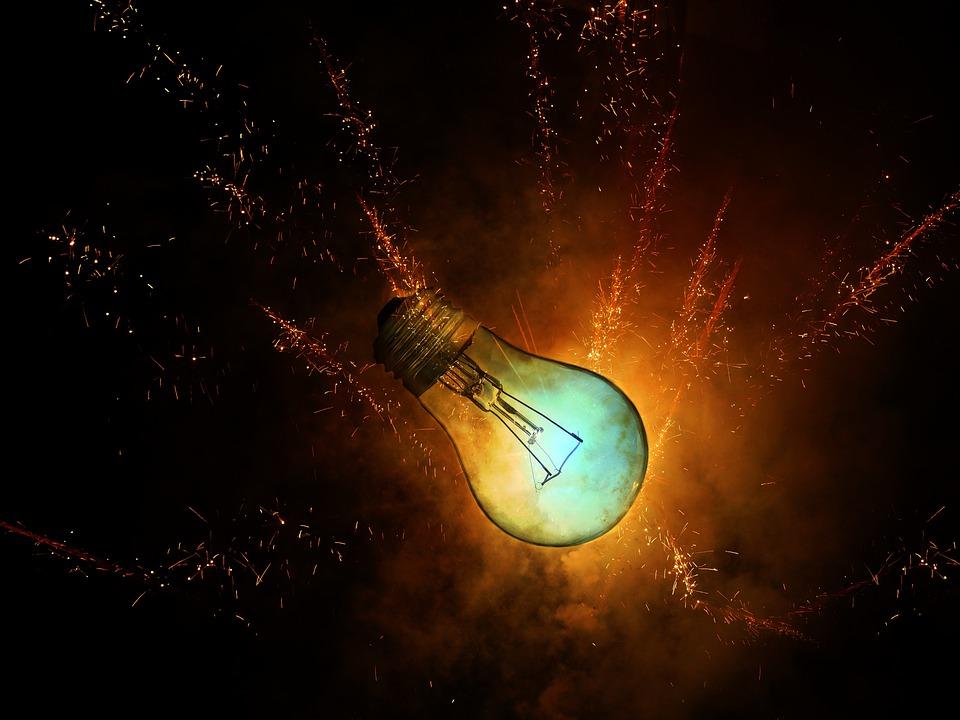 žiarovka, svetlo